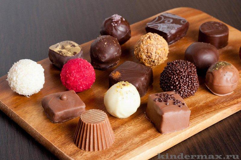 Как сделать шоколадные конфеты с детьми
