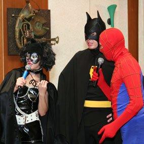 день рождения мальчика с супергероями